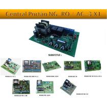 Central Placa De Comando Acton P/ Automatizador Portão Rossi