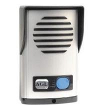 Kit Interfone Porteiro Eletrônico Agl Em Abs C/ Saída 12v