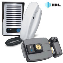Kit Interfone Hdl Porteiro Eletrônico + Fechadura