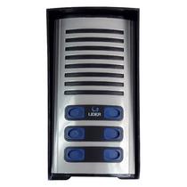 Porteiro Eletrônico Coletivo 6 Pontos Lider Lr 5006 P/ 6 Ap