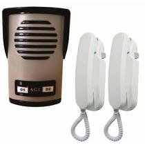 Interfone Com 2 Pontos Agl, Bom Igual Hdl,+2 Monofones