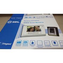 Porteiro Eletrônico Hdl Sense Seven+ Câmera Segurança