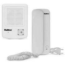 Interfone Porteiro Eletrônico Multitoc - Fácil Instalação