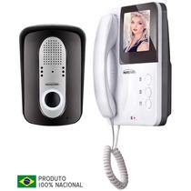 Video Porteiro Eletrônico Colorido Lcd 4 Protection Pt-3000