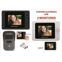 Vídeo Porteiro Duplo 02 Monitores (interno) Powerpack 2406