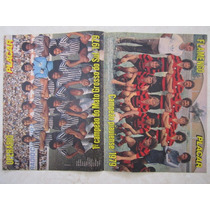 Poster Flamengo Campeão Piauiense E Operário 1º Campeão Ms