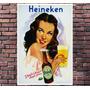 Poster Exclusivo Beer Cerveja Heineken Retro Vintage 30x42cm