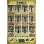 Poster Aprenda A Dançar O Tango Formato 31x44 Cm - Cód. B142