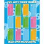Times Table Poster - Educação Bed Room Playroom Estudo