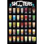 Tiros Poster - Licenciado Álcool Shooters Misturadores Maxi