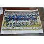 Poster Do Cruzeiro - Campeão Mineiro De 2003
