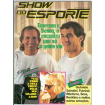 Revista Show Do Esporte 6- Senna- Emerson Fittipaldi- Xuxa