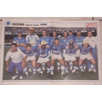 Pôster Placar - Cruzeiro Mineiro 1994 / Grêmio Copa Do Brasi