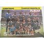 Poster Placar Dupla Face Corinthians - Ponte Preta - 1979