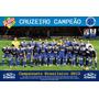 Poster Cruzeiro Campeão 2013 Alta Qualidade 90x60