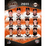 Poster (20 X 25 Cm) San Francisco Giants 2011 Team Composite