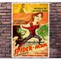 Poster Exclusivo Spiderman Homem Aranha Retro Tam 30x42cm