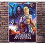 Poster Exclusivo Mestres Do Universo He Man Retro - 30x42cm