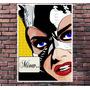 Poster Exclusivo Mulher Gato Cat Comics Retro Pop Art 30x42