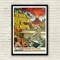 Antigo Poster Filme Ficção The Land That Time Forgot De 1975