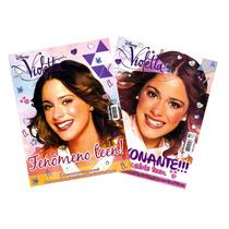 Lote Violetta Desconto = 2x Revistas Pôster Novas 52 X 81cm!