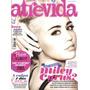 Revista Atrevida Miley Cyrus Rara! No #237 Lacrada C/ Pôster