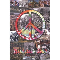 Poster (61 X 91 Cm) Woodstock Collage