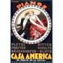 Casa América Poster Impressão Achille Luciano Mauzan