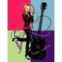 Hannah Montana: Deixar Ele Rocha Poster Impressão Walt