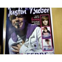 Revista Poster Justin Bieber Nº02 A Febre Que Varreu O Plane