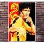 Poster Exclusivo Bruce Lee Kung Fu Luta Arte Marcial 30x42cm