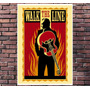 Poster Exclusivo Walk The Line Johnny Cash Rock - 30x42cm