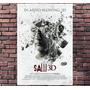 Poster Filme Jogos Mortais Saw Terror - Tamanho 30x42cm