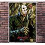 Poster Filme Jason Sexta Feira 13 Terror - Tamanho 30x42cm