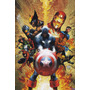Marvel Heróis - Poster Em Lona 60x90cm - Modelo 6
