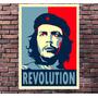 Poster Exclusivo Che Guevara Retro Vintage Cuba - 30x42cm