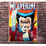 Poster Exclusivo Wolverine Comics X Men - Tamanho 30x42cm