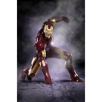 Homem De Ferro - Iron Man - Poster Em Lona 60x40cm