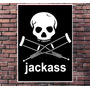 Poster Exclusivo Jackass Mtv Knoxville Margera Cult 30x42cm