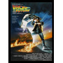 Quadro Poster Cinema Filme Back To The Future 0228 +moldura