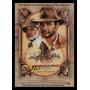 Quadro Poster Cinema Filme Indiana Jones 0209 Com Moldura A3
