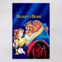 Poster 30x45cm Filmes Infantis Animacao A Bela E A Fera