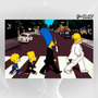 Poster Cartaz 60x90cm Series Beatles - Simpsons Abbey Road