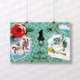 Pôster 40x60 Alice In Wonderland