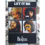 The Beatles Let It Be Lindo Quadro Poster Madeira