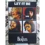 The Beatles Let It Be Lindo Quadro Artesanal Madeira
