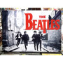 The Beatles Beatlemania Lindo Quadro Artesanal Madeira
