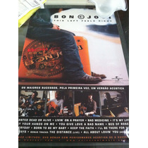 Bon Jovi - Poster Oficial E Original This Left Feels Right