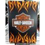 Harley Davidson Motorcycles Lindo Quadro Poster Madeira