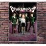 Poster Exclusivo Paramore Pop Rock Tamanho 30x42cm